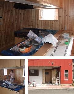 リフォーム/キッチン(小郡市のK邸)