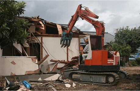 家屋解体工事1
