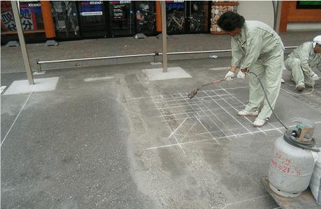 駐輪場設置工事1