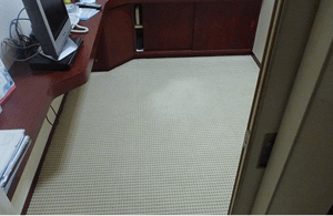 歯科医院 院長室内カーペット張替工事2